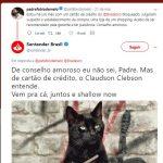 Pe. Fábio de Melo reclama do Bradesco no Twitter e concorrentes aproveitam oportunidade