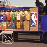 NBA lança a primeira loja sobre rodas do mundo